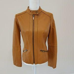 Michael Kors women's leather jacket. Size S/P